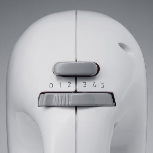 Severin HM 3827, Potenza 200W, ganci impastatori e fruste in acciaio Inox, 5 velocità