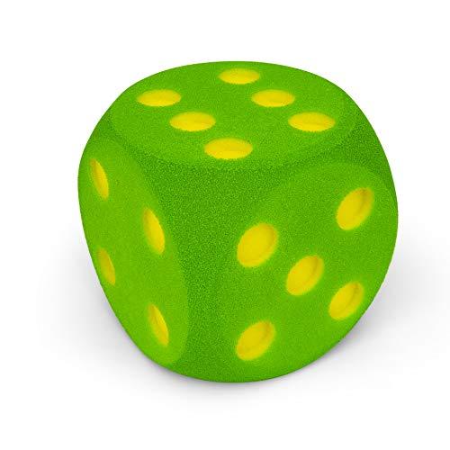Volley Dado de gomaespuma 16 cm - Verde