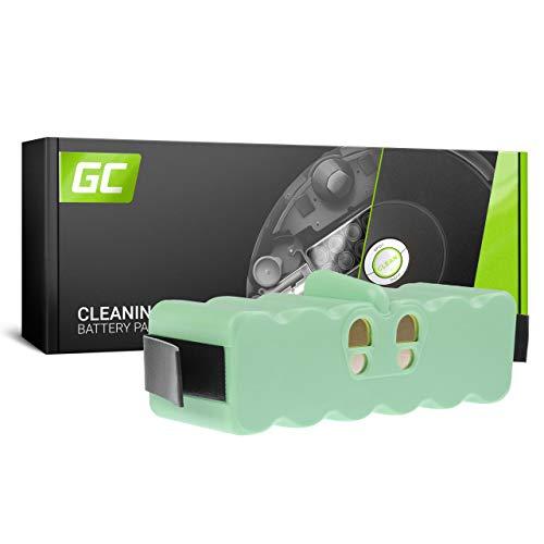 GC (6Ah 14.4V Li-Ion) Batería para iRobot Roomba 500 600 700 800 900 Series 510 520 530 535 540 545 550 552 560 570 580 585 595 610 620 630 650 660 760 770 780 790 880 960 980 985 de Aspirado