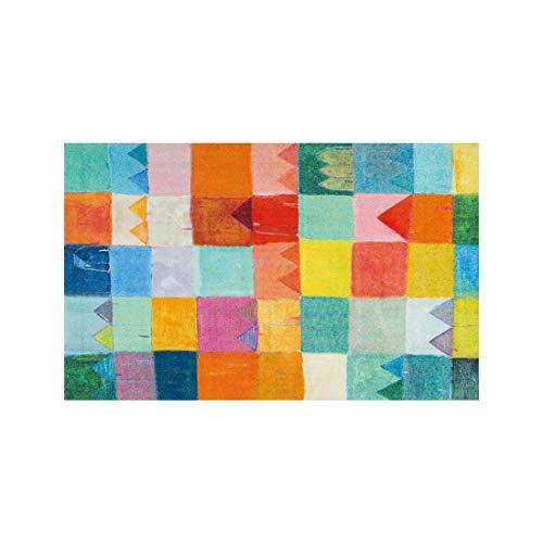 Wash + Dry Fußmatte, Polyamide, Mehrfarbig, 110 x 175 cm