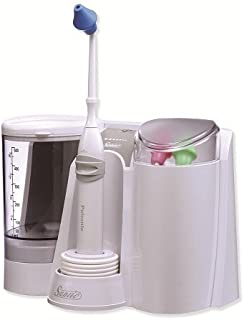 Sanvic Professional Nasal / Sinus Pulsatile Irrigator (Family: Include 3 Adult Tips)
