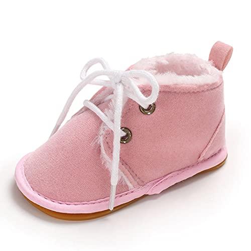 Baby Schuhe Krabbelschuhe Mädchen Jungen Babyschuhe Verdicken Weicher Boden Lauflernschuhe Rutschfest Kleinkind Schuhe Leopard Unisex Kinder Schuhe 0-6 monate