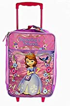 Disney Sofia The Great Rolling Luggage, Pink, One Size