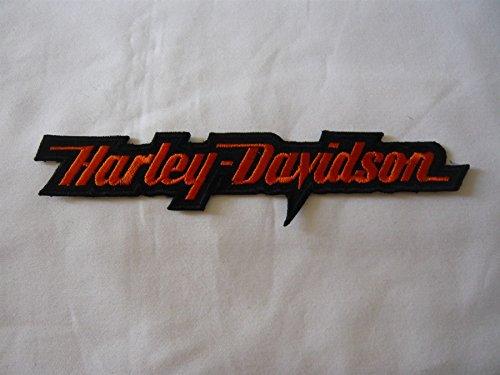 Artikel eird am nächsten Tag versand!Aufnäher patch Aufbügler Harley Davidson ca.16 x 3,5 cm Adler eagle shield Motorrad Motorradclub