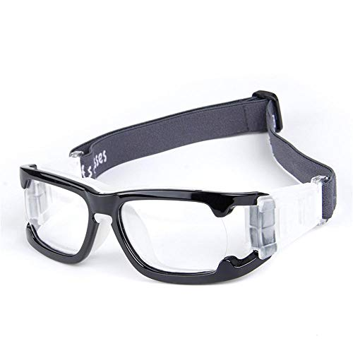 Uteruik Basketballbrillen Schutzbrillen - Sportbrillen Fußball Schutzbrille für Erwachsene (Brille - D)