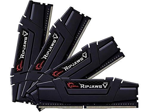 G.SKILL 32GB (4 x 8GB) Ripjaws V Series DDR4 PC4-28800 3600 MHz 288-Pin Desktop Memory Model F4-3600C18Q-32GVK