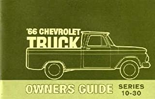 1966 Chevrolet Truck 10-30 Owners Manual