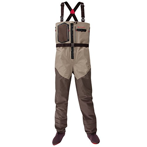 Redington Sonic-Pro HDZ Fly Fishing Waders - Large King, Clay