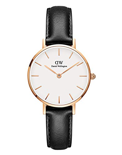 Daniel Wellington Petite Sheffield Rose Gold Watch, 28mm, Leather, for Men and Women