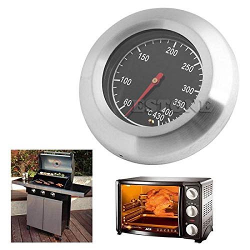 Yiwann Keuken Koken Thermometer, Oven BBQ 60-430 °C Grill BBQ Barbecue Indicateur Température