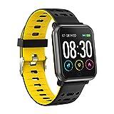 Inseguitore di fitness,Letopro cardiofrequenzimetro IP67 Wristband impermeabile con pressione...
