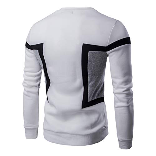 Z&Y Glaa Mens Hoodie Sweatshirts & Jumpers with or Men's Casual Fleece Pullover Hoody Top for Running, Gym Workwear Long Sleeve Plain Crew Neck Unisex Mens Womens Basic Solid Jumper