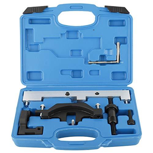 FreeTec Motor Nockenwellen Einstellwerkzeug Steuerkette Werkzeug für BMW N40/N45/N45T E46 E81 E87 E90 B16 B16A AC
