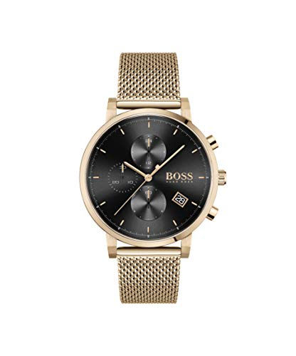 Hugo Boss Chronograaf Quartz Horloge voor heren met RVS Band 1513808