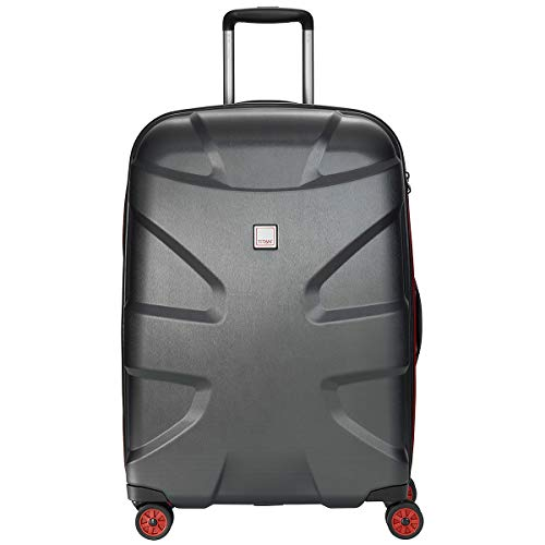 TITAN X2 4-Rollen-Trolley M+ 71 cm black brushed