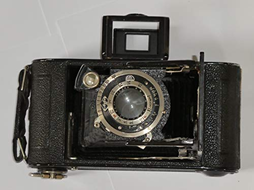 Agfa Bilette Oppar - vertikale Faltkamera - Format - Rollfilm 6x9 - Objektiv: Agfa Oppar 4.5/9,5 cm Nummer: 488505 - selten - Baujahr 1931