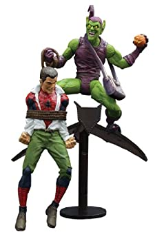 Diamond Select Toys Marvel Select  Classic Green Goblin vs Spider Man Action Figure