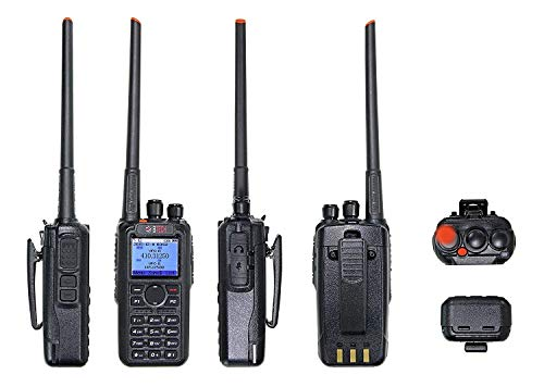 BTECH DMR-6X2 7-Watt Dual Band Two-Way Radio
