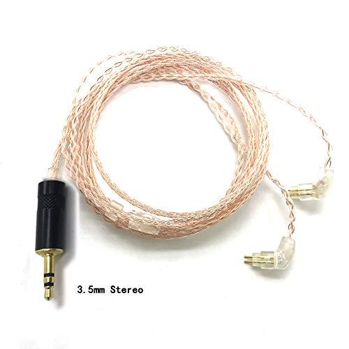 halda eaudio DIY 3,5mm estéreo Replacement Upgrade Cable Auricular Cable de Repuesto...