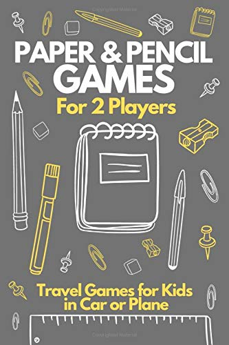 Compare Textbook Prices for Paper & Pencil Games For 2 Players - Travel Games for Kids in Car: Activity Book for 2 Players. Tic-Tac-Toe Hangman, Dots and Boxes, Hexagon, Four in ... Travel Games for Teens in Car or at Home  ISBN 9798646911767 by Youngsters, Gifted