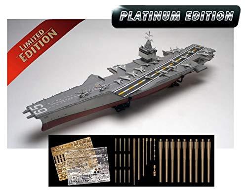 Revell 05173 USS Enterprise CVN-65 originalgetreuer Modellbausatz für Experten, unlackiert