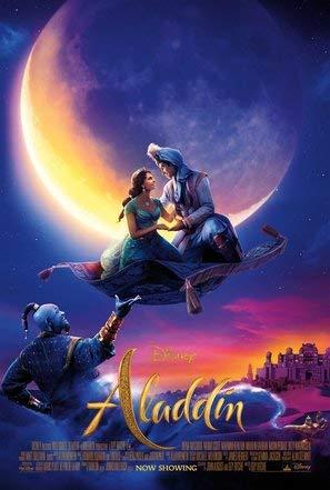 Aladdin – Film Poster Plakat Drucken Bild - 43.2 x 60.7cm Größe Grösse Filmplakat Will Smith