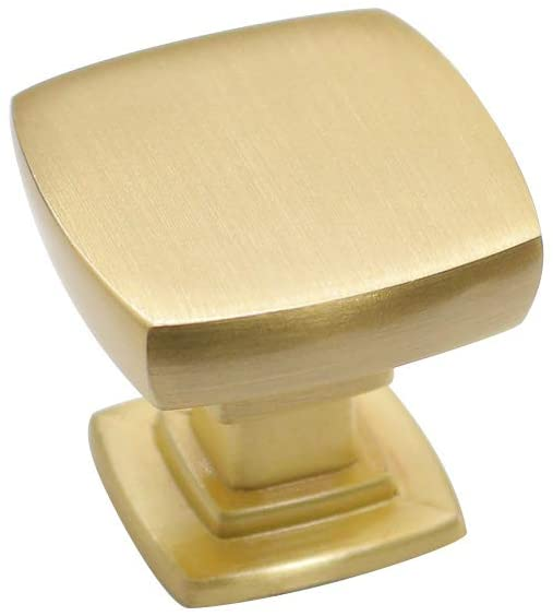 10 Pack homdiy San Diego Mall Brushed Brass Knobs Dresser Solid - Cabinet Ranking TOP6