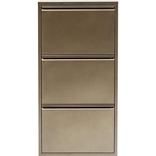 Kare Design Schuhkipper Caruso 3er Bronze MO