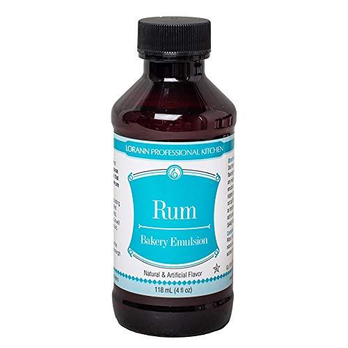 LorAnn Rum Bakery Emulsion, 4 ounce bottle