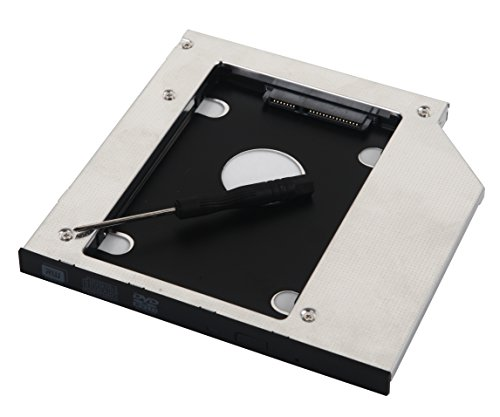 DeYoung 2nd adaptador de disco duro SSD disco duro Caddy para ASUS N750G751G751JT G751JY P751JF F750X750X750j k750j K751LN N751JK