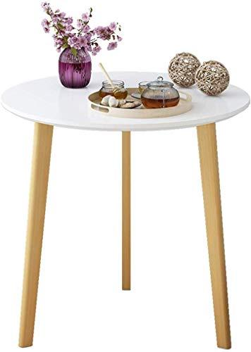 QTQZDD woonkamerdecoratie, tafel, verplaatsbaar, salontafel, hostel, sofatafel, multifunctionele computerbureau, hout, driehoekige tafel (kleur: c, maat: 8074cm) 8 8