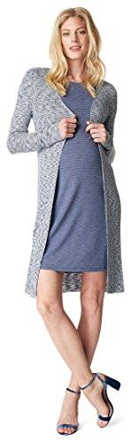Noppies Damen Cardigan Knit ls Amy Umstandsstrickjacke, Blau (Navy C166), 34 (Herstellergröße: XS)