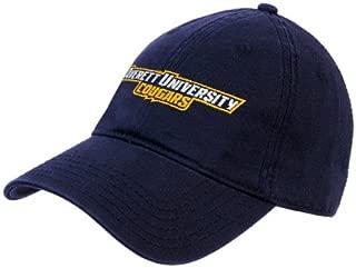 Averett Navy Twill Unstructured Low Profile Hat 'Averett University Cougars'