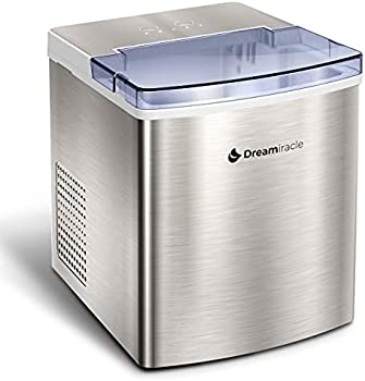 Dreamiracle Countertop Stainless Steel Electric Ice Maker