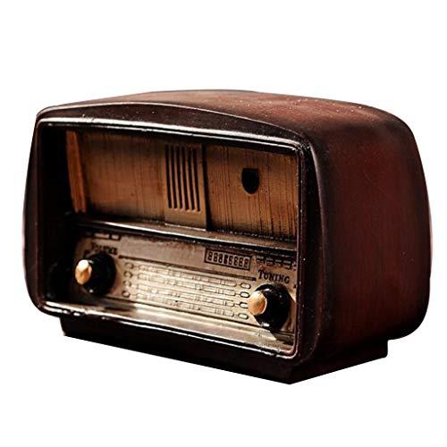 PETSOLA Retro Creativo Modelo De Radio Manualidades Adornos Decoració
