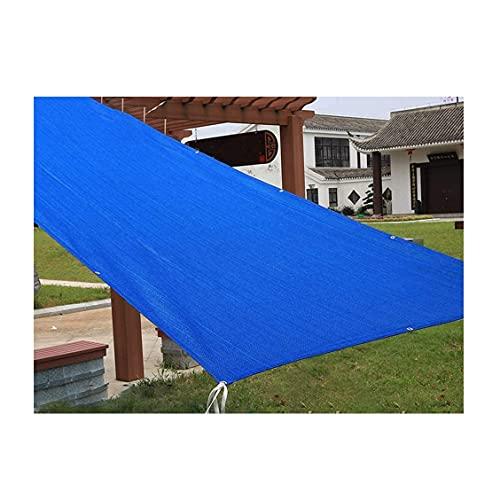 SDWJJ Versión Mejorada de la Pantalla de Sombra Viento Shining Telans Protector Solar Aislamiento de la fábrica Sombrilla Balcón Terraza Jardín Sandbox Sombra con la Cuerda Blanca Hebilla de plástico