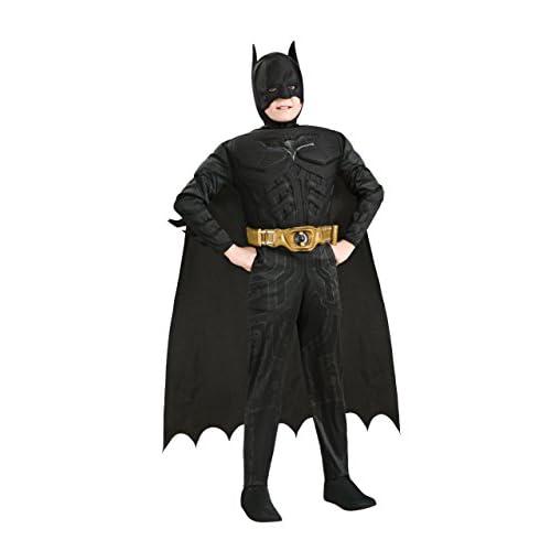 Costume Carnevale Bambino Batman Taglia S