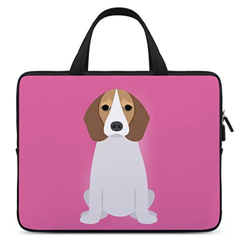 Universal Laptop Computer Tablet,Case,Cover for Apple/MacBook/HP/Acer/Asus/Dell/Lenovo/Samsung,Laptop Sleeve,Color for Dog Mammal English Foxhound American Foxhound,15inch