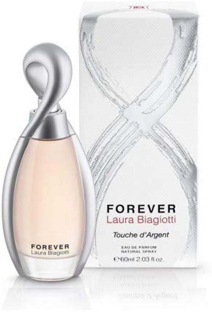 Laura biagiotti, forever touche d`argent ,eau de parfum per donna, 60 ml 7044_9064