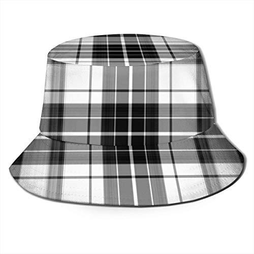 Out GuoAiYunShop - Sombrero de pescador, diseño retro, color negro