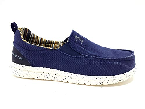US: Golf Club S20us120 Slipon heren bootschoenen canvas jeans