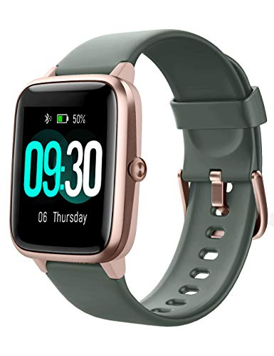 Willful Smartwatch,1.3 Zoll Touch-Farbdisplay Fitness Armbanduhr mit Pulsuhr Fitness Tracker IP68 Wasserdicht Sportuhr Smart Watch mit Schrittzähler,Schlafmonitor,Stoppuhr für Damen Herren
