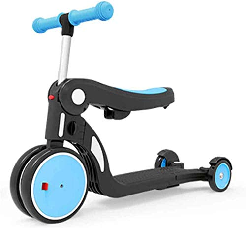Amazing Deal THDSNQ Children's Balance Bike, 2 in 1 Children's Scooter WSJYP Balance Bike, 3-in-1 Ch...