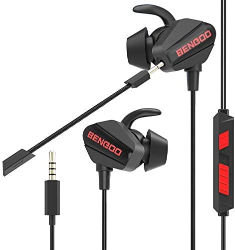BENGOO G20 Gaming Earbuds in Ear Gaming Headset Headphones with Dual Microphone for PS4 PS5 product image