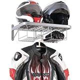 Perchero para casco de moto, para colgar en la pared, para el garaje, el taller, la moto