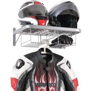 Portacasco, chándal para Moto, Perchero para Colgar en la Pared, Chaqueta, Bicicleta, para Garaje, Caja de Taller o Motociclista