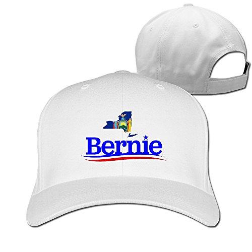 New York pour Bernie Sanders hip-hop réglable Trucker Caps - Blanc - Taille Unique