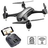 Tech rc GPS Drone FPV RC Drone with Camera 1080P HD WiFi Live Video, Auto Return Home, Headless Mode, Follow Me,Surround Flight,One-Key Flight