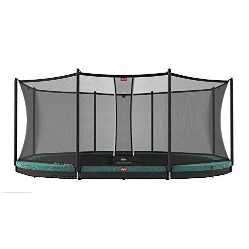 BERG Trampoline Inground Favorit oval 520 with Safety Enclosure Net Comfort | Trampoline for kids, Premium Trampoline, Kids trampoline, Longer Lifetime Warrenty, Goldspring Springs