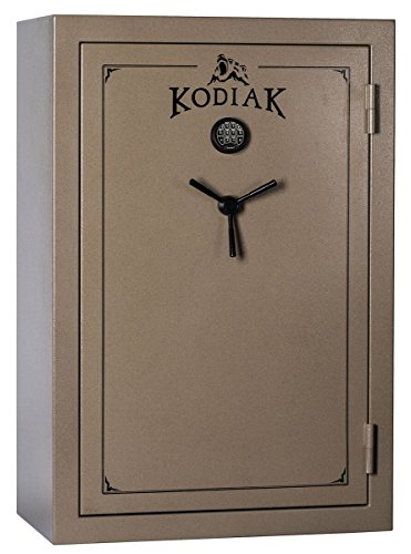 Kodiak K5940EX Gun Safe by Rhino Metals, 52 Long Guns & 8 Handguns, 655 lbs, 60 Minute Fire Protection, Electronic Lock, Patented Swing Out Gun Rack Compatible and Bonus Deluxe Door Organizer